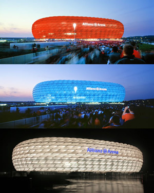 Allianz Arena in Bayern
